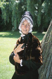 La mayoría de la ropa puritano era de color marrón.