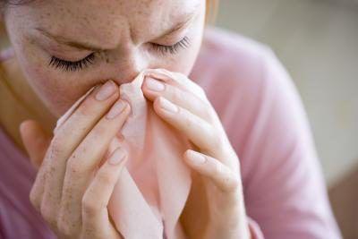 El resfriado común reduce sus sentidos del gusto y del olfato mediante el bloqueo de los conductos nasales