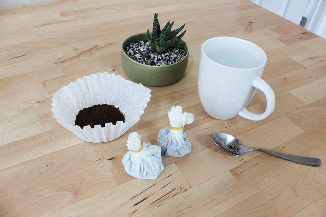 Linda y eficaz, estas bolsas de café de bricolaje son una mañana excepcional pick-me-up.