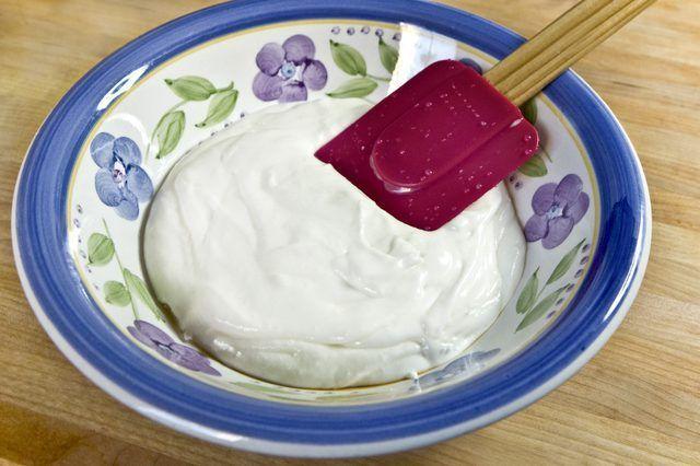 Fácil Frosting crema agria