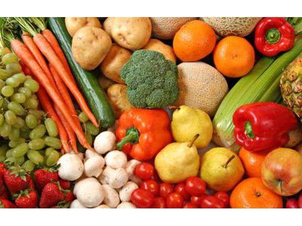 Las dietas de frutas y verduras son muy populares.