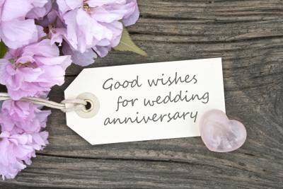 Aniversario de bodas.