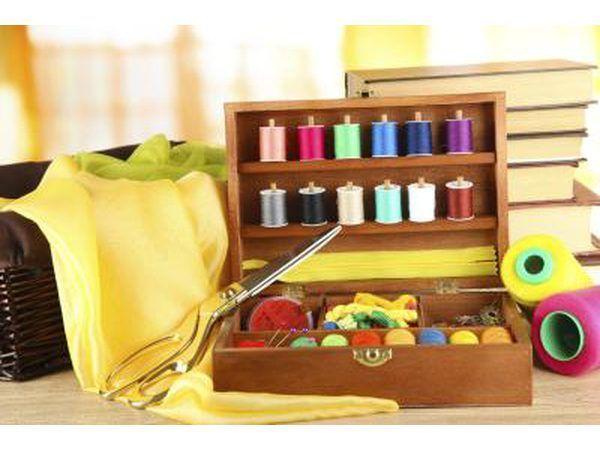 pequeño kit de costura