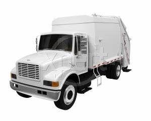¿Cómo funciona un camión de basura?