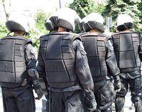 equipos de policía están organizados como unidades militares.