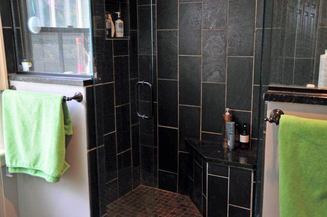 Cómo limpiar piedra azulejos de la ducha