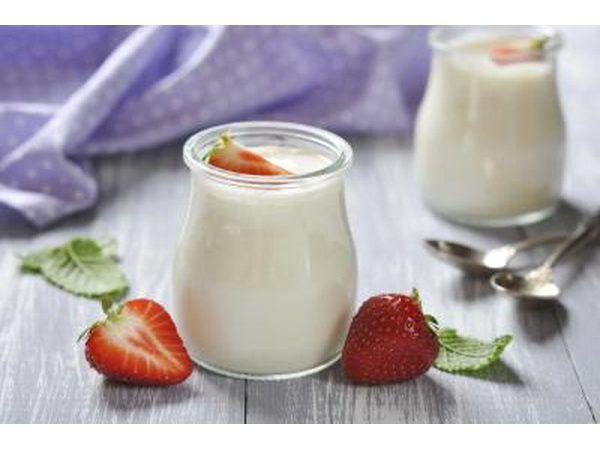 empezar el día con yogur orgánico