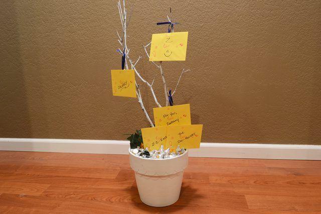 Cómo hacer una tarjeta de regalo del árbol