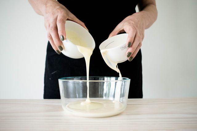 Pastel de tres leches de coco