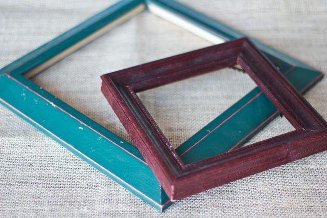 Cómo pintar madera Portarretratos
