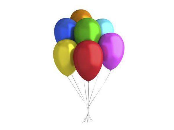 Decorar con globos.
