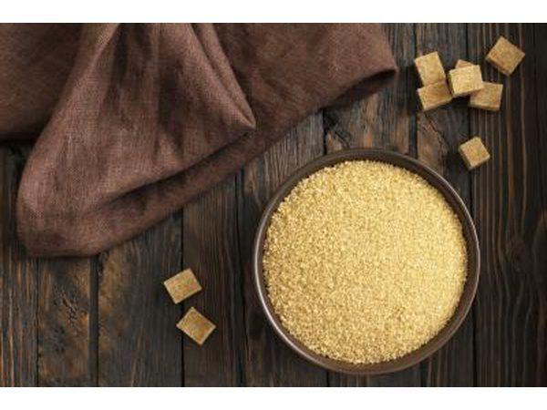 El azúcar moreno se puede utilizar como un sustituto.