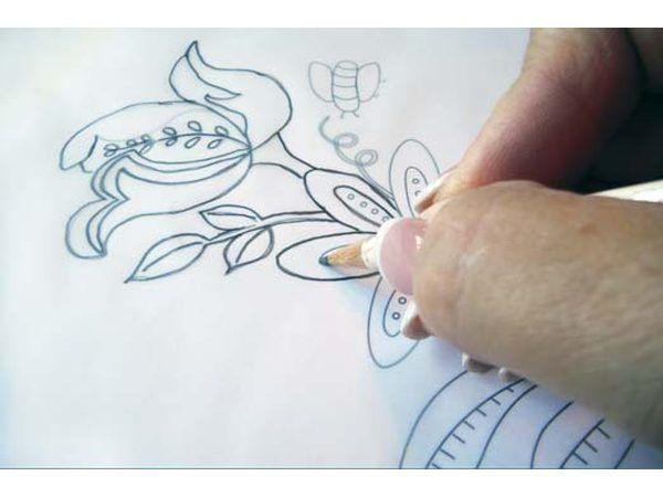 diseño de traza con lápiz # 2