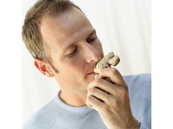 Aromas no pueden llegar a los receptores de olor en la cavidad naval que envían señales al cerebro respecto a olor.