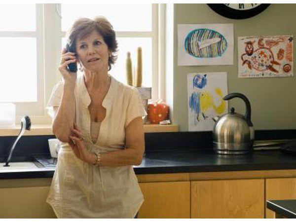 Mujer en el teléfono