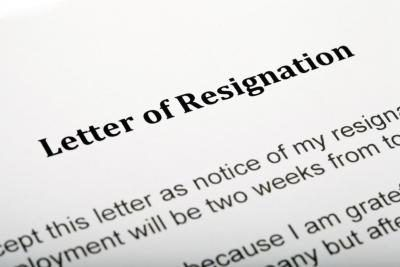 Cierre de carta de renuncia.