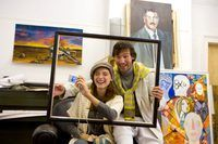 El ingreso encuadre arte varía según la industria.