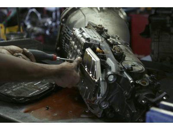 Desgaste puede mandará una transmisión a necesitar reconstruida