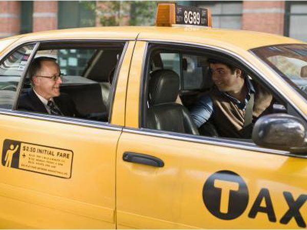 taxi amarillo.