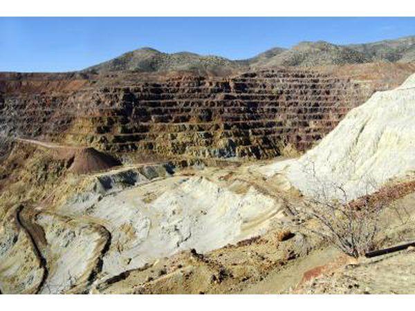 mina de cobre a cielo abierto en Chile